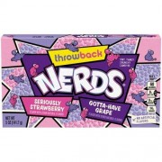 Wonka Nerds Fraise / Raisin - 141 Gr