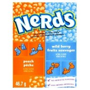 Wonka Nerds Pêche / Fruits Sauvages - 47 Gr