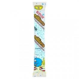 Millions tube de bonbons goût Bubble Gum 60 Gr