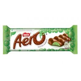 Nestlé Aero Chocolat au lait fourré menthe - 36 Gr