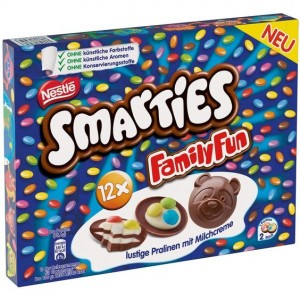 Smarties Family Fun - 90 Gr