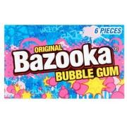 Chewing Gum Bazooka goût original ou Framboise bleue 33 Gr