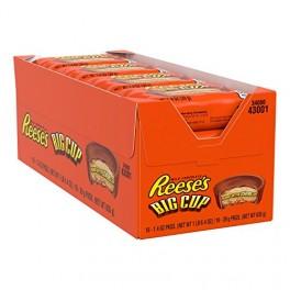 Reese's Big Cup Chocolat Et Beurre De Cacahuètes - 39 Gr x 16