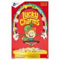 General Mills Céréales Lucky Charms - Grand paquet - 454 Gr
