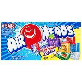 AirHeads Pack de 6 barres - 93,6 Gr