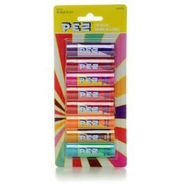 Pack de 8 Baume à lèvres Pez 4 Gr