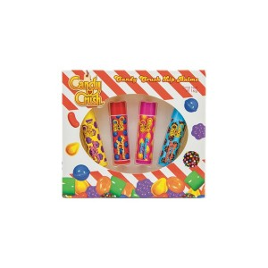 Pack de 4 Baume à lèvres Candy Crush 4 Gr