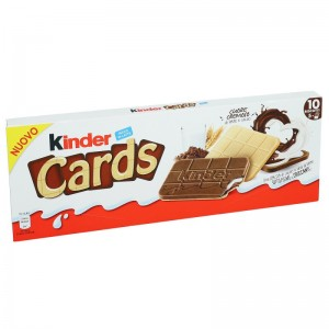 Ferrero Kinder Cards - 128 Gr