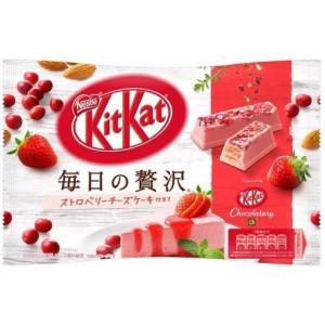 Kit Kat Luxury Cheesecake Fraise - 109 Gr