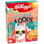 Kellog's Honey Llama Loops  - 375 Gr