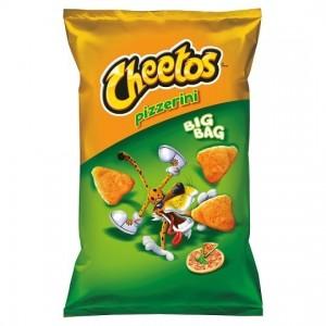 Cheetos Crisp Pizzerini goût Pizza 85 Gr