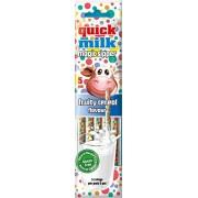 Quick Milk Magic Sipper - Paille magique goût céréales fruitées 30 Gr