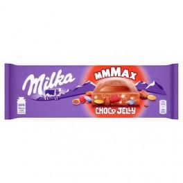Tablette de chocolat Milka Choco Jelly 250 Gr