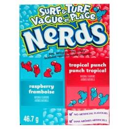 Wonka Nerds Surf'N'Turf - 47 Gr - Emballage abîmé