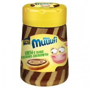 Pâte à tartiner saveur chocolat Banane 400 Gr