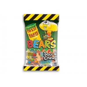 Toxic Waste Sour and Chewy Bears - 142 Gr