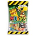 Toxic Waste Sour and Chewy Worms - 142 Gr
