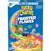 General Mills Céréales Lucky Charms Frosted Flakes - 391 Gr