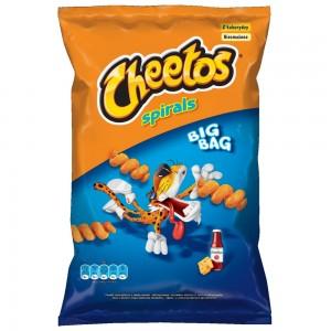 Cheetos Spirals Cheese and Ketchup 80 Gr