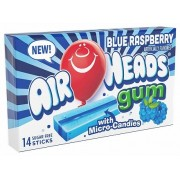 Chewing Gum Air Heads Framboise bleue 33,6 Gr