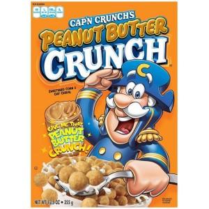 Céréales Quaker Captain Crunch Peanut Butter - 325 Gr