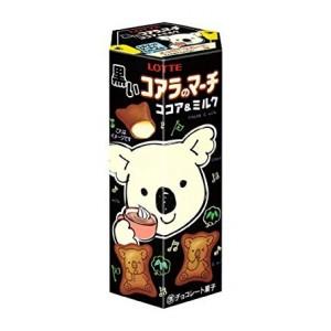 Lotte Koala No March Black Cocoa et Lait 48 Gr