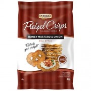 Snyder's Pretzel Crisps Honey Mustard Onion - 85 Gr