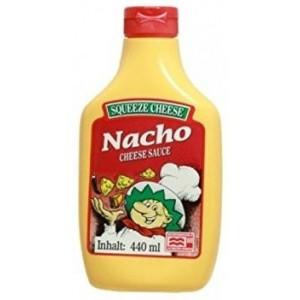 Sauce Cheddar Nacho 440ml