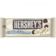 Hershey's Barre De Chocolat Cookies And Cream - 100 Gr