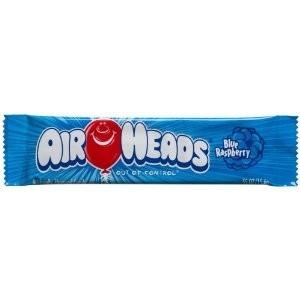 AirHeads goût framboise bleue - 16 Gr