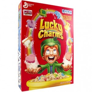 General Mills Céréales Lucky Charms - Regular Size - 297 Gr