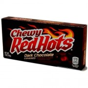 Chewy Red Hots Chocolat Noir - 113 Gr