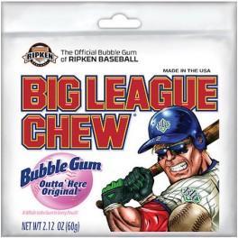 Chewing Gum Big League Chew Original - 60 Gr
