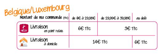 Livraison en Belgique et Luxembourg